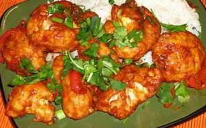 рецепт Гоби манчуриан-жареная цветная капуста