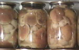 рецепт Как мариновать белые грибы