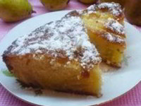 рецепт Кекс с грушами и ромом