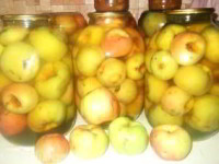рецепт Компот из яблок на зиму