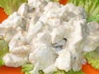 рецепт Куриное филе в сметанно-сырном соусе «Неженка»