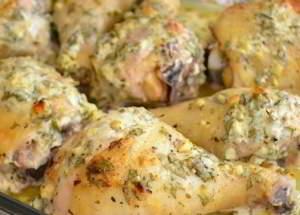 рецепт Куриные голени в сметанном маринаде