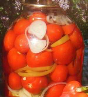 рецепт Маринованные помидоры на зиму