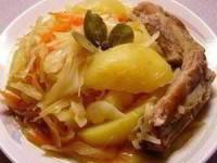 рецепт Рагу с капустой