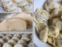 рецепт универсальное заварное тесто для вареников, пельменей, поз, чебуреков