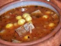 Азербайджанский суп пити в горшочках