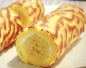 Фантастический банановый рулет!