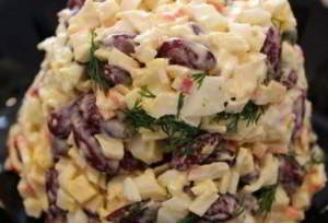 фасоли из Быстрый салат