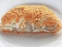 Курица с грибами в слоеном тесте