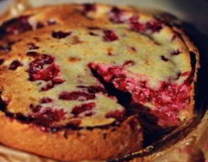 Малиновый пирог