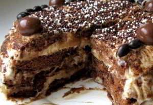 Пряничный торт (без выпечки)