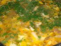 Рецепт грибного супа из свежих белых грибов
