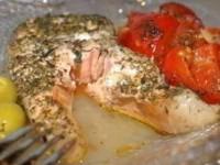 "Рыба ""паровая"" с овощами"