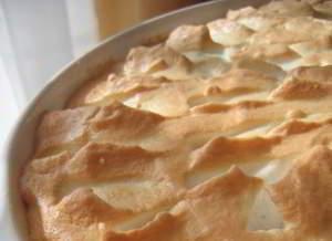 Творожно-яблочное суфле