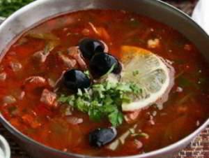 вкусная солянка суп