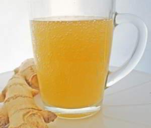 рецепт Имбирный эль - напиток из имбиря