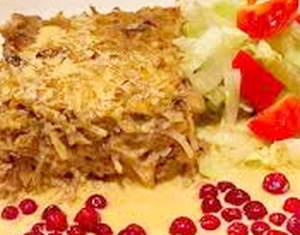рецепт капустный пудинг