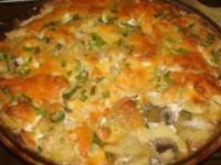 рецепт Картофель по-французски с грибами