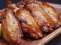 рецепт Куриные крылышки, запеченные в лимонном сиропе