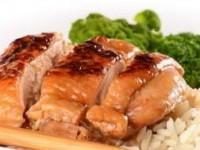 рецепт Курица с медом и соевым соусом