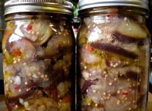 рецепт Маринованные баклажаны на зиму