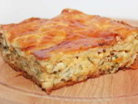 рецепт Пирог с сыром и луком