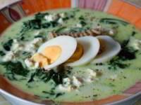 рецепт Суп-пюре со шпинатом