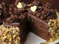 рецепт торт Бисквитное пирожное с шоколадным кремом