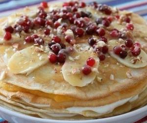 Блинный пирог рецепт
