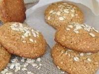 Быстрое овсяное печенье без муки