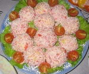"""Закуска """"Рафаэлло"""" - вкусное и красивое блюдо из яиц, сыра и чеснока"""