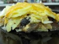 Картофельно-грибная запеканка с ароматом тимьяна