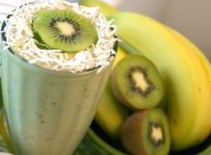 Напиток из киви и банана