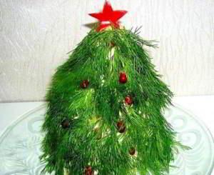 Салат «Новогодняя ёлка»