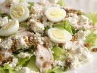 Салат с рикоттой и курицей