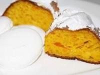 Тыквенный пирог с безе