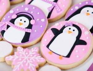 Украшение печенья на новогодние праздники с фото