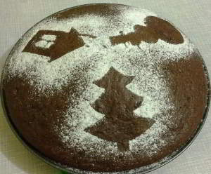 Шоколадный торт на кипятке