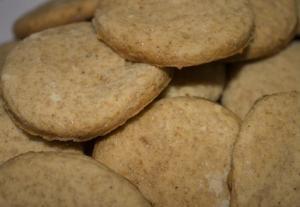 Английское имбирное печенье