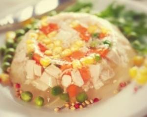 Вегетарианский холодец - новогодние рецепты