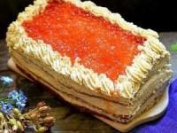 Вкусный закусочный торт из сельди к Новому году - новогодние рецепты