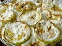 Жареные кабачки с чесночным соусом