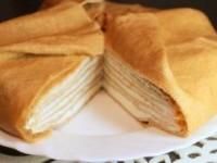 Запеченный блинный пирог с бананамиЗапеченный блинный пирог с бананами