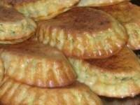 Кабачковые кексы с беконом