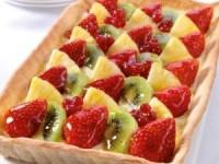 Классический фруктовый тарт
