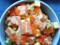 Лососевый салат