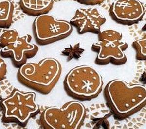 Новогоднее имбирное печенье классическое
