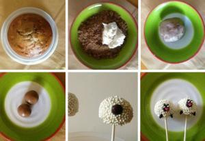 Новогодний десерт «Овечки» - новогодние рецепты