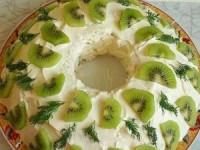Новогодний салат Нефритовый браслет