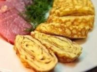 Омлет по-японски на завтрак